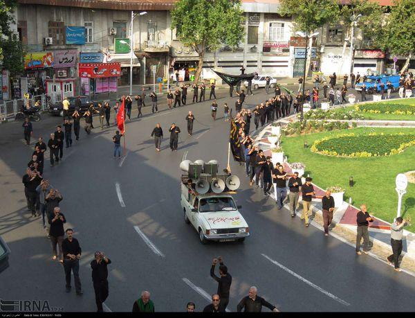 عزاداری مردم گرگان در سوگ شهادت حضرت علی علیه السلام + تصاویر