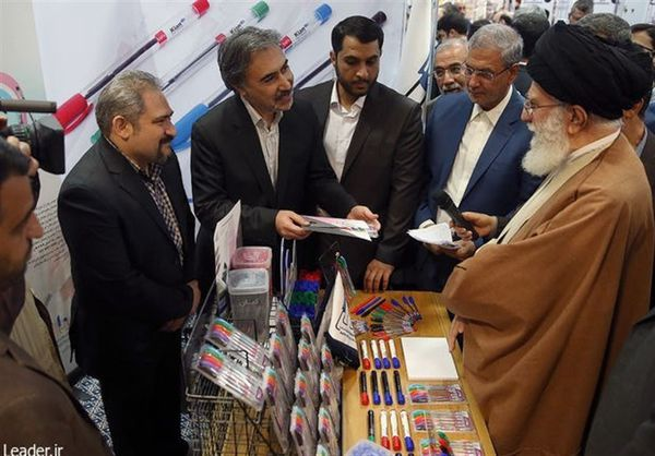 بازدید ۲.۵ ساعته امام خامنهای از نمایشگاه کالای ایرانی