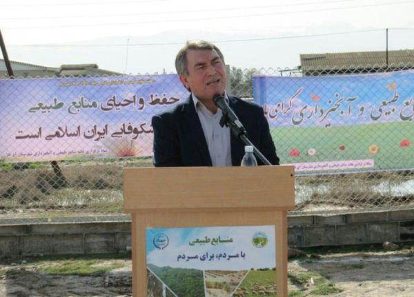 بیابان 90 هزارهکتار اراضی ملی آق قلا را تهدید می کند