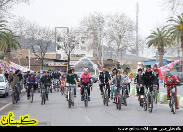 دوچرخه سواری گرگان