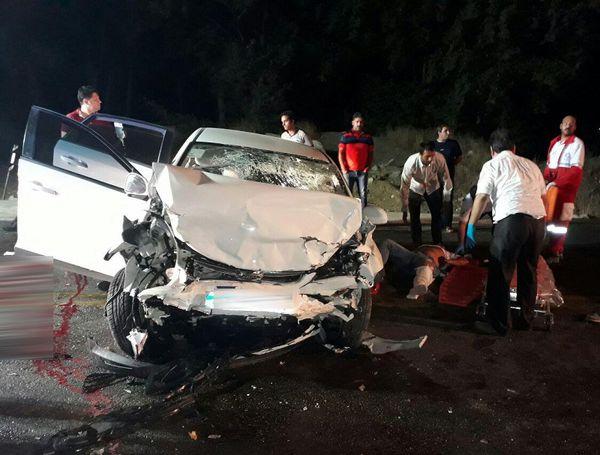 تصادف مرگبار در محور بجنورد- جنگل گلستان