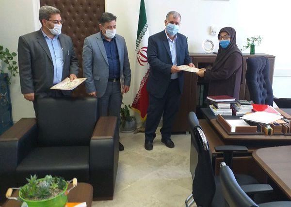 جلسه تجلیل از اعضای هیات ارزیابی و داوری استان گلستان برگزار شد