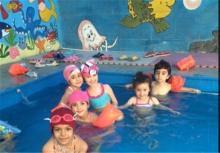 تصاویر دیده نشده از «استخر مختلط» کودکان در تهران