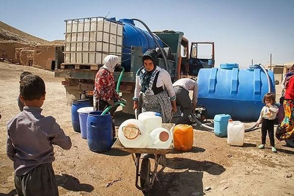 110 روستای گلستان با تانکر آبرسانی می شوند