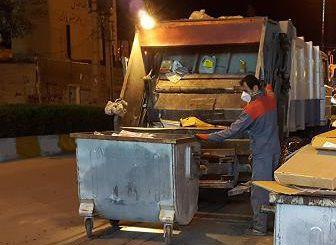 جمعآوری زباله گرگانیها از 10 شب