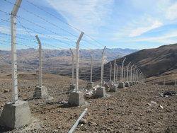 نصب تجهیزات فیزیکی و الکترونیکی در مرزهای گلستان