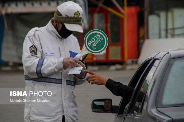 ممنوعیت ورود و خروج خودروها از شهرهای نارنجی گلستان