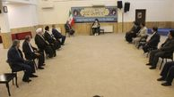 دیدار مسئولان قضایی استان با نماینده ولی فقیه در گلستان