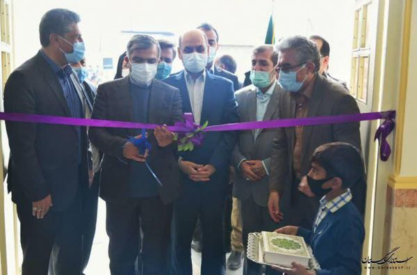 افتتاح آموزشگاه خیّری 3کلاسه روستای شمس آبادگرگان