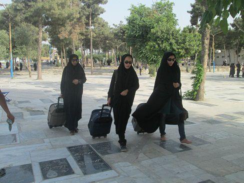 دانشجویان گلستانی که بی وقفه پس از فراغت از امتحانات اعتکاف جهادی را تجربه می کنند +تصاویر
