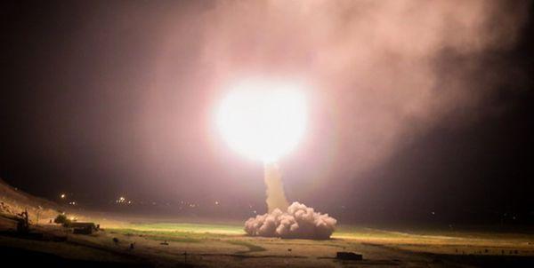 «انتقام سخت» به وقوع پیوست/ حملات سنگین موشکی سپاه به پایگاه آمریکایی عینالاسد+فیلم