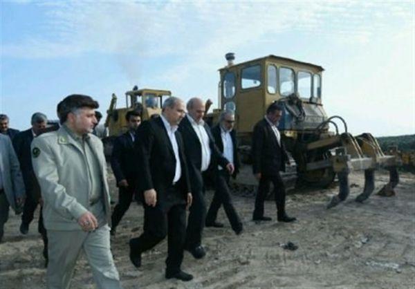 بازدید رئیس سازمان محیط زیست از روند احداث پارک پسماند گرگان