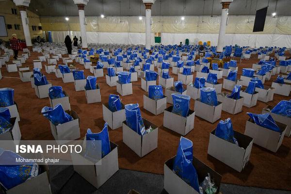 توزیع بسته غذایی بین ۶۵ هزار خانوار نیازمند گلستانی