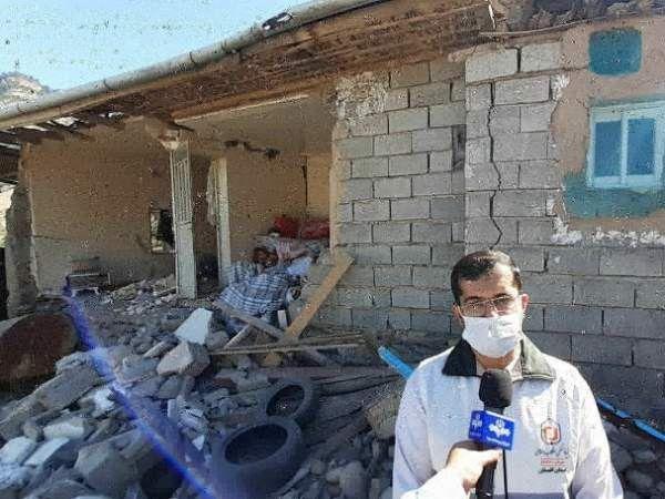 زلزله به ۱۹۵ واحد مسکونی در رامیان خسارت وارد کرد