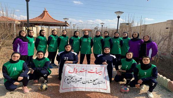 حضور تیم گلستان در مسابقات هندبال کشور