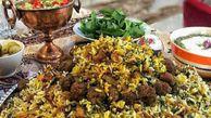 طرز تهیه کلم پلو شیرازی خوشمزه و مجلسی با گوشت چرخ کرده