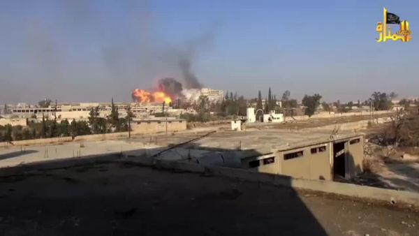 فیلم / بخشی از عملیات های انتحاری جبهه النصره، بیمارستان کندی