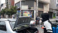 ایستگاه ضدعفونی خودرو مسجد علی ابن ابی طالب(ع) گرگان/تصاویر