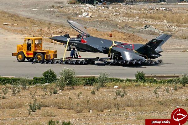 جنگنده فوق سری ایرانی/قاهر313 + تصاویر