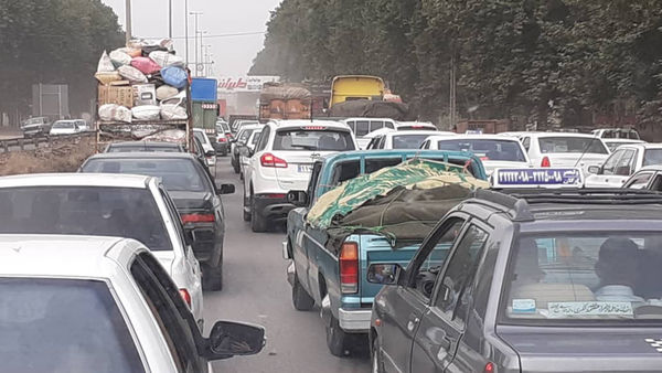 علت ترافیک سنگین ورودی شرقی گرگان چیست؟