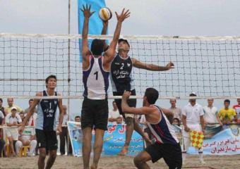 گلستانی ها برنز مسابقات والیبال ساحلی بلغارستان را گرفتند