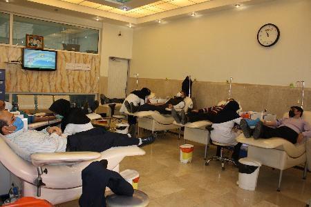 کمک مومنانه اهدای خون کارکنان صدا و سیما استان گلستان به بیماران نیازمند به خون