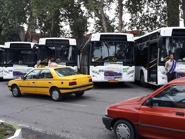 با ورود20 دستگاه اتوبوس جدید متوسط عمر ناوگان حمل و نقل گرگان 8 سال کاهش پیدا کرد