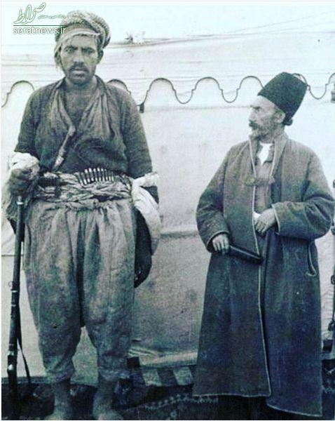 عکس/ ارباب و غلام قجریاش