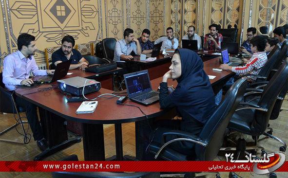 پیمان یعقوبی جشنواره بازی های رایانه ای گلستان13