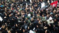 خیابانهای تهران مملو از منتظران پیکر مطهر شهید سلیمانی و همرزمان ایشان