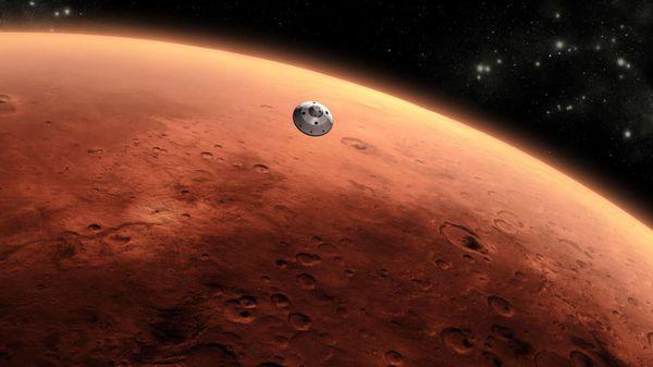 اولین زن مریخی جهان بر روی زمین+عکس