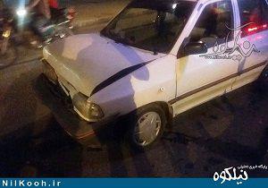 تصادف فرماندار گالیکش به خیر گذشت + تصاویر