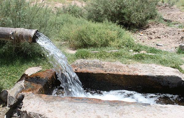 دبی چاه های آب شرب گلستان ۸ درصد کاهش یافت