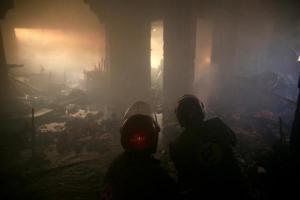 جنگنده های ترکیه شمال حلب را بمباران کردند