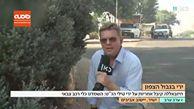 وحشت خبرنگار صهیونیست هنگام گزارش درباره اوضاع در شهرک صهیونیستنشین «آویویم»