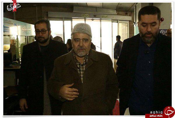 مداح معروف در جشنواره فیلم فجر + عکس