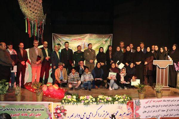 درخشش اعضای کارگاههای ادبی کانون گلستان