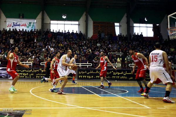 سرو قامتان بسکتبال گلستان جواز مرحله پلی آف بسکتبال کشور را کسب کردند