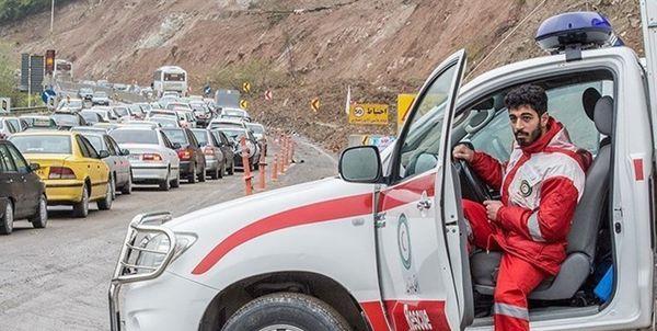 جمعیت هلال احمر گلستان در پاسخگویی حوادث ترافیکی رتبه نخست کشوری را دارد