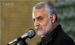سردارسلیمانی:داعش به پایان عمر خود نزدیک شده است