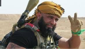 حضور ابوعزرائیل، کابوس داعش، در خط مقدم فلوجه +فیلم و تصاویر