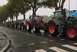 فیلم/ اعتراضات گسترده کشاورزان در فرانسه و آلمان