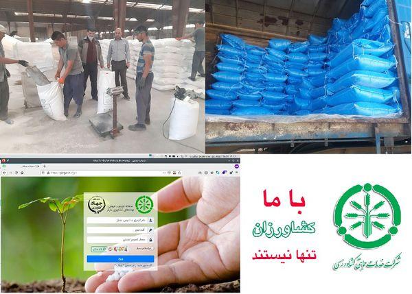تامین بیش از 60 هزار تن کود ازته در گلستان