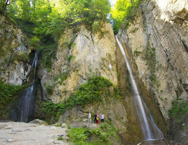 ایجاد زیرساخت گردشگری در آبشار زیارت گرگان و چند خبر کوتاه از گلستان