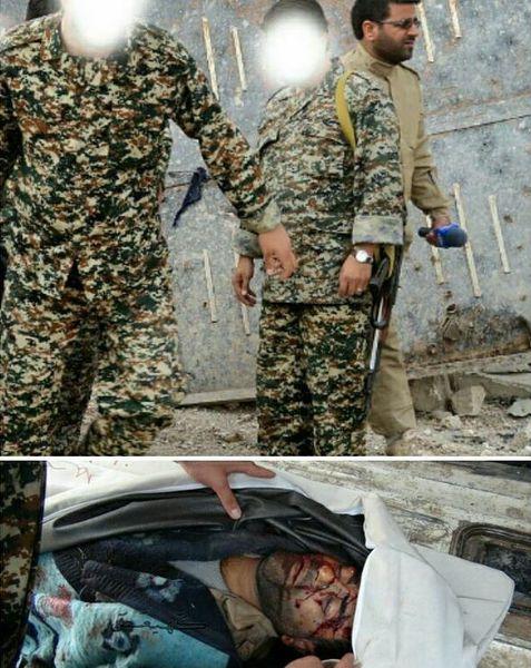 تصاویر لحظاتی قبل و بعد از شهادت خبرنگار ایرانی در حلب