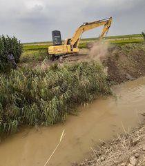 10 کیلومتر از کانالهای زراعی شهرستان گنبدکاووس ساماندهی و لایروبی شد