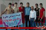 بازدید استاد علی زاده، از باشگاه موی چایا در شهرستان کردکوی