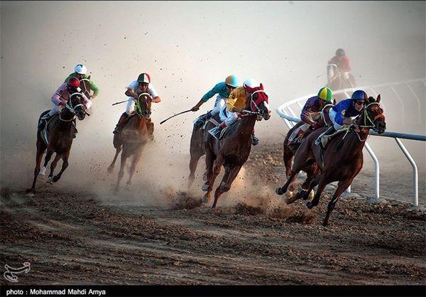 گلستان|مسابقات اسبدوانی کورس پائیزه کشور در آق قلا آغاز شد