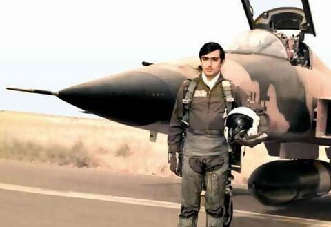 فیلم/ خلبانی که پیکرش به دستور صدام دو نیم شد