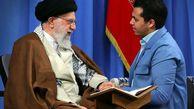 دیدار رهبر معظم انقلاب با قاری ممتاز بین المللی